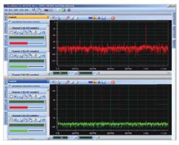 Рабочее окно графического интерфейса WaveVision 5-3