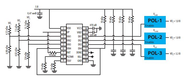 секвенсор ISL70321SEH