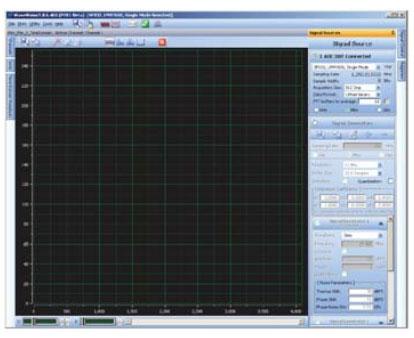 Рабочее окно графического интерфейса WaveVision 5