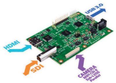 Макетная плата типового видеомоста с интерфейсом USB3 на базе ПЛИС