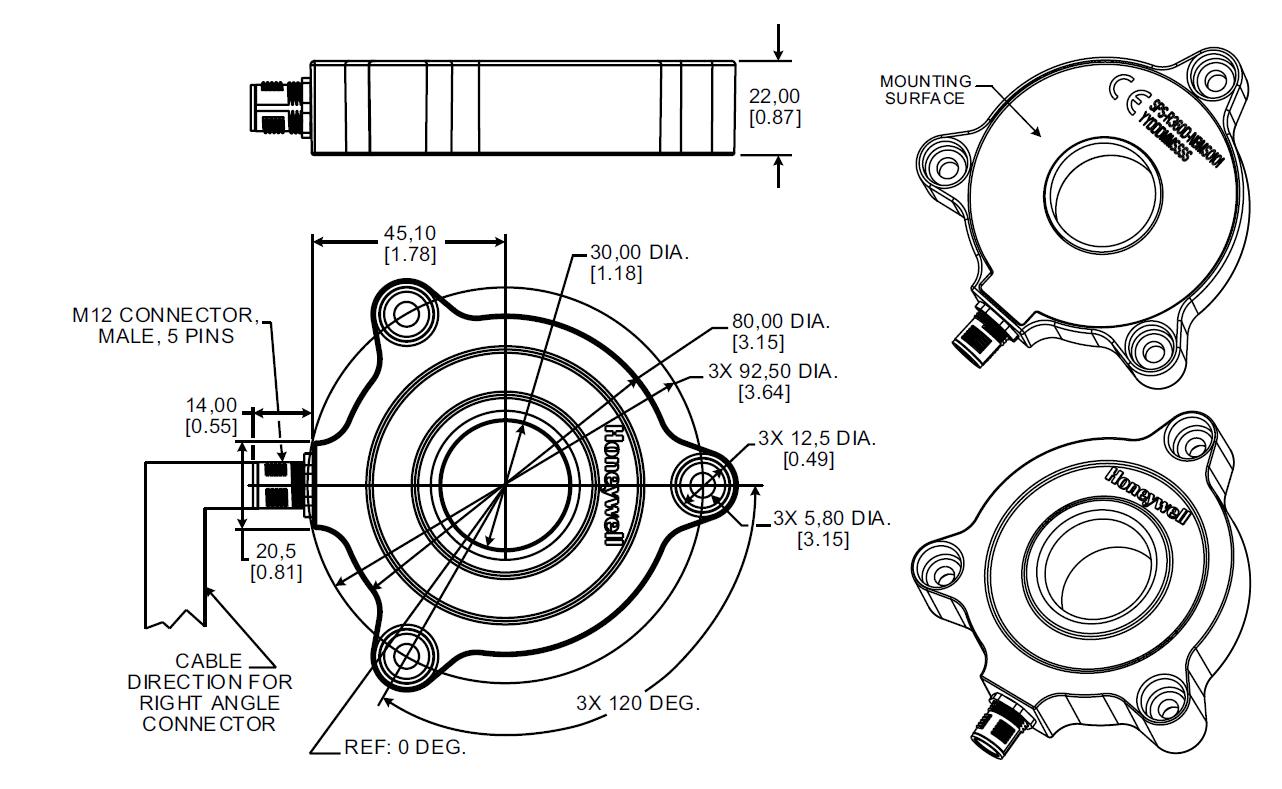 датчики кругового перемещения
